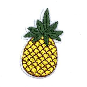 Kleine Ananas Eisen auf Patch